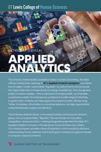 Bachelor of Science in Applied Analytics Fact Card
