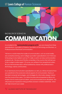 Bachelor of Science in Communication Fact Card