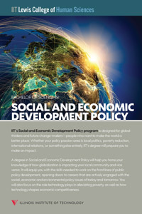 Bachelor of Science in Social and Economic Development Policy Fact Card